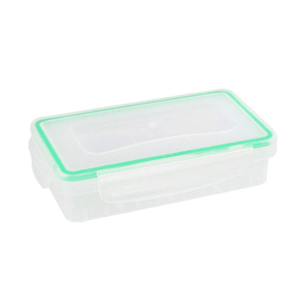 Sayingning Portable Waterproof & Dustproof Battery Case Holder Storage Box for 18650/18350 Battery to Help You Save Space