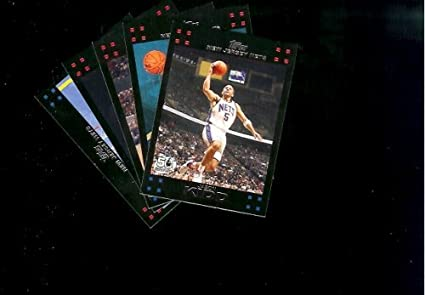 premium selection 3cc44 facbc 2007-08 Topps New Jersey Nets Basketball Cards Team Lot ...
