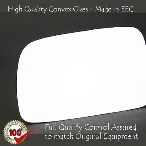Hightecpl 37LS Left Passenger Side Convex Door Wing Mirror Glass