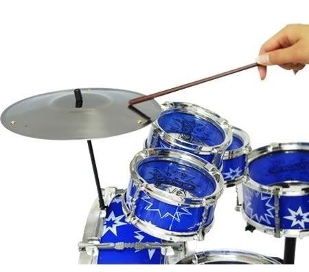 41iajRbKUqL - 11pc Kids Boy Girl Drum Set Musical Instrument Toy Playset BLUE