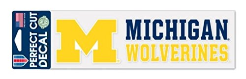 NCAA Official University of Michigan Wolverines 3''x10'' Perfect Cut