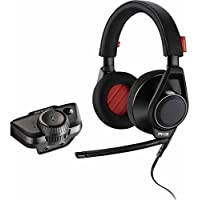 Plantronics RIG Flex LX 3.5mm Wired Gaming Headphones with Advanced Audio Adapter (Black)
