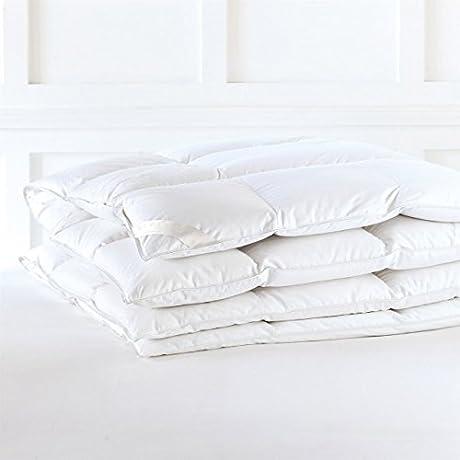 Alexander Comforts Nottingham Light Weight Hungarian White Goose Down Comforter Full