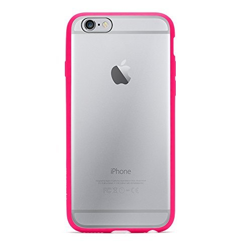 Griffin Technology Griffin Reveal Case for iPhone 6 - Retail Packaging - Hot Pink/Clear - Carrying Case - Retail Packaging - Multicolor