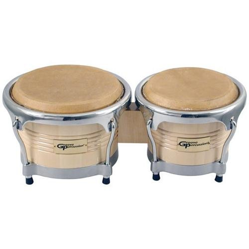 Groove Percussion BG7585 Pro Bongos by Groove Percussion
