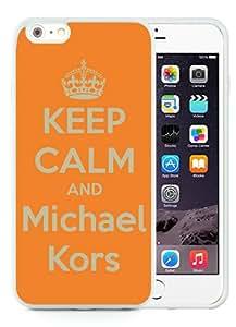 Hot Sale M-ichael K-ors iPhone 6 Plus TPU Case ,Popular And Unique 48 White Phone Case For iPhone 6 Plus 5.5 Inch Screen Case Fashion Custom Designed