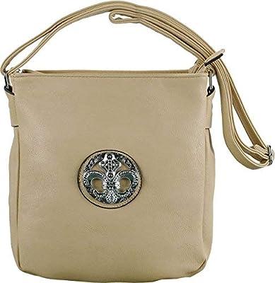 cc34cdc67940 Generic A+ Fashion Messenger Cross Body Handbag Purse With Metal ...
