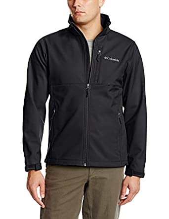 Columbia Men S Ascender Softshell Front Zip Jacket At