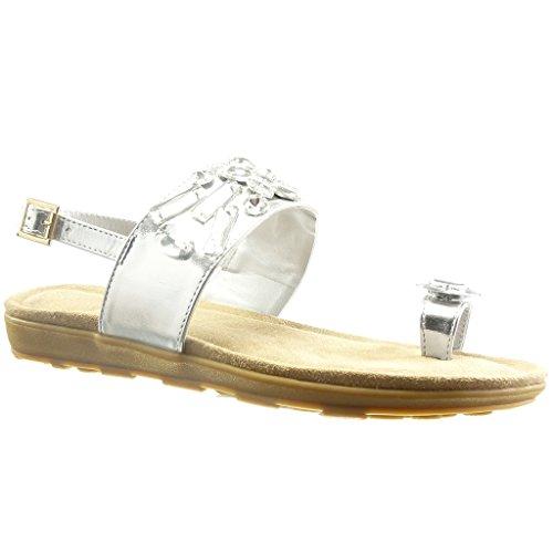 Zapatos blancos de punta abierta formales Angkorly para mujer barato 2018 Nuevo Compra con descuento Sitio Oficial de Liquidación en línea Menos de $ 60 precio barato SYzKF