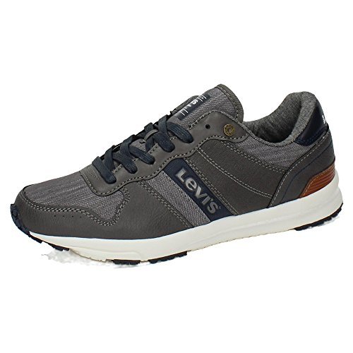 Baylor Sneaker Gris Levi's Oscuro Uomo dOwg8Xd0qA