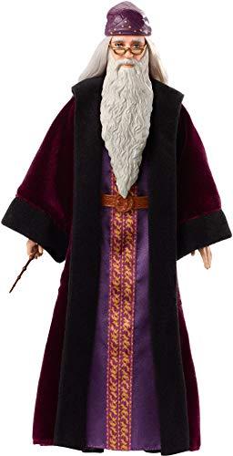 41ianH5MiQL albus dumbledore - muñeco coleccionable de la saga harry potter profesor dumbledore - figura coleccionable para verdaderos fans: su característica ropa y los detalles especiales, como la barba y la varita de sauco, hacen que este muñeco de colección tenga un aspecto idéntico a las películas Dumbledore