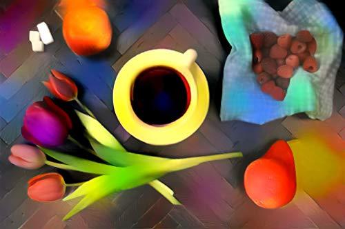 (Flower Red Food (Art Print))