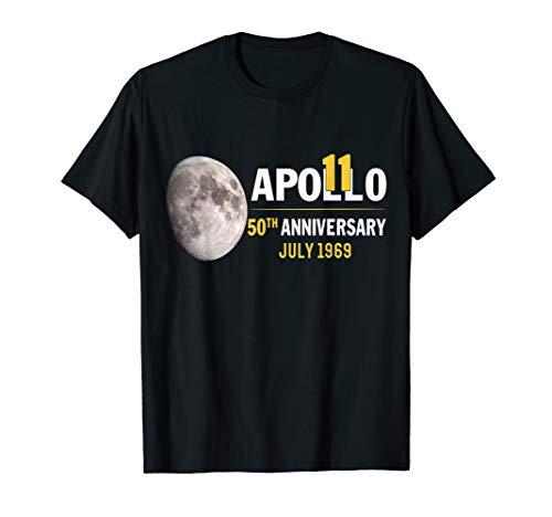 Apollo 11 50th Anniversary Moon Landing 1969 2019 Gift T-Shirt