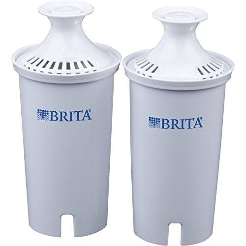 Brita Replacement Water Filter for Pitchers, 2 Count