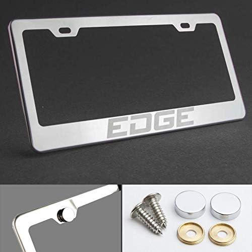 NEW Dodge Ram Chrome License Plate Frame Engraved Block Letters