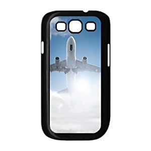Case Of Airplane Customized Hard Case For Samsung Galaxy S3 I9300 by lolosakes