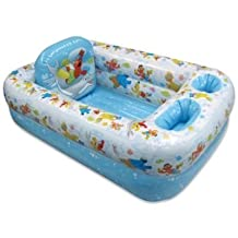 Ginsey Sesame Street Inflatable Bathtub by Ginsey