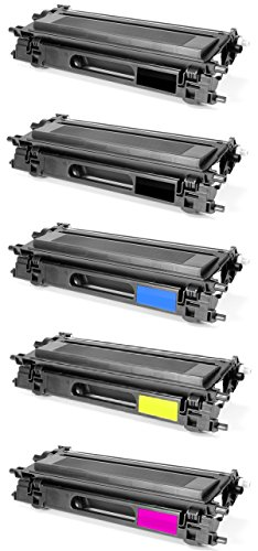 GLB Premium Quality Remanufactured Replacement Toner Cartridge Set With Additional Black for Brother TN115 ( (Brother Laser Remanufactured Cartridge)