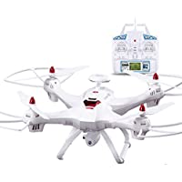 Outtop Remote Control with 5GHz WiFi FPV 1080P Camera GPS Brushless Quadcopter for Outdoor Activities (White)