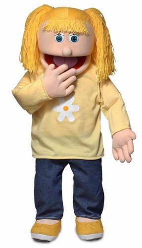 "30"" Katie, Peach Girl, Professional Performance Puppet with Removable Legs, Full or Half Body - 41iaqlVfA 2BL - 30″ Katie, Peach Girl, Professional Performance Puppet with Removable Legs, Full or Half Body"
