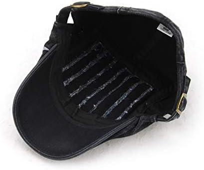 野球帽 キャスケット メンズ ハット 綿 調整可能 防風 日よけ お洒落 ハンチング 57cm〜59cm LWQJP (Color : ベージュ, Size : One Size)