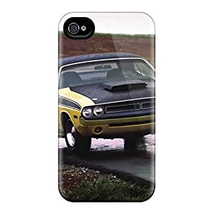 DoqbJpv3007xebEj 1970 1974 Dodge Challenger Fashion Tpu 4/4s Case Cover For Iphone