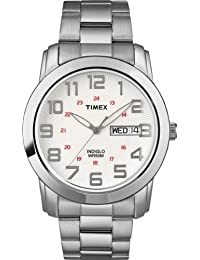 Timex Men's Everyday Sport Chic Stainless Band Watch Fullsize T2N437GP