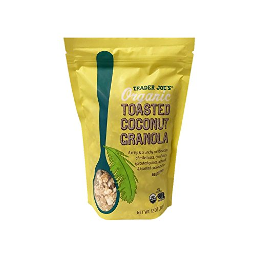 Trader Joe's Organic Toasted Coconut Granola 12oz
