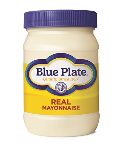 - Blue Plate Real Mayonnaise, 16 Ounce Jar (Pack of 12)