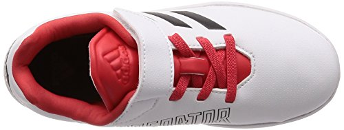 adidas Unisex-Kinder Altaturf Predator K Fitnessschuhe Weiß (Ftwwht/Ftwwht/Ftwwht Ftwwht/Ftwwht/Ftwwht)
