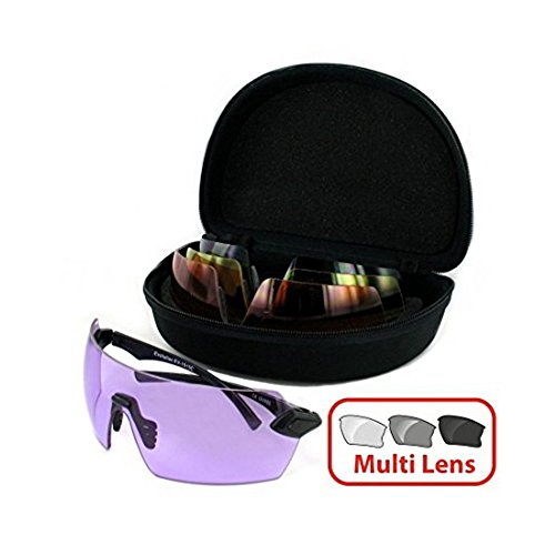 Evolution Matrix Archery Clay Pigeon Air Rifle Target Shooting Glasses Multi Lens
