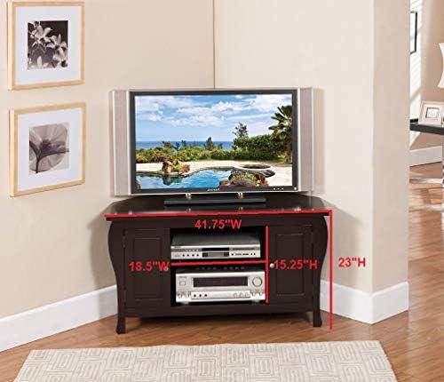Kings Brand - Mueble esquinero de Madera para televisor: Amazon.es: Juguetes y juegos