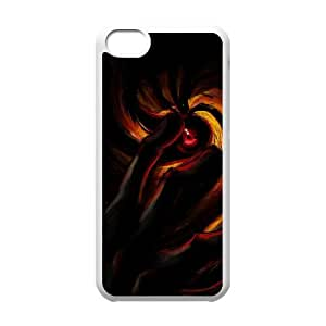 Naruto iPhone 5c Cell Phone Case White Customized Gift pxr006_5266046