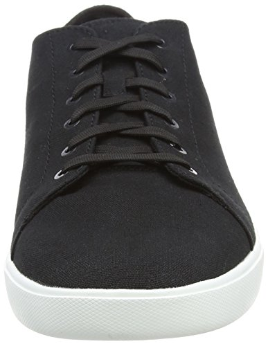 Bayham Canvas Homme 001 Canvas Timberland Oxford Black Noir Richelieus Sw664qd