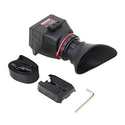 ASHANKS KAMERAR QV-1 LCD VIEWFINDER VIEW FINDER FOR CANON 5D MarK III II 6D 7D 60D 70D,f Nikon D800 D800E D610 D600 D7200 D90 (Bottom D600)
