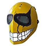 Invader King ™ Yellow Smiley Airsoft Mask Protective Gear Outdoor Sport Masks Bb Gun
