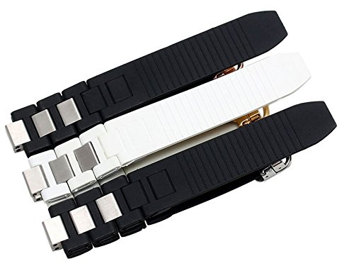 sports shoes 8af51 73630 Amazon   [jiroo] 腕時計 ベルト シリコン ラバーバンド ...