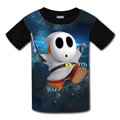 [Short Sleeve Tee Shirt Print With Warframe For Guys M] (Make Daffy Duck Costume)