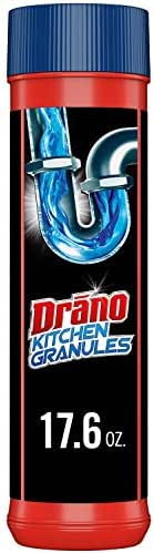 Drain Cleaners: Drano Kitchen Granules