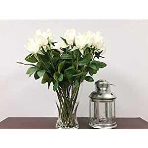 """1 Dozen (12pc) of Real Touch Quality Artificial Rose Bud -16""""long 113"""