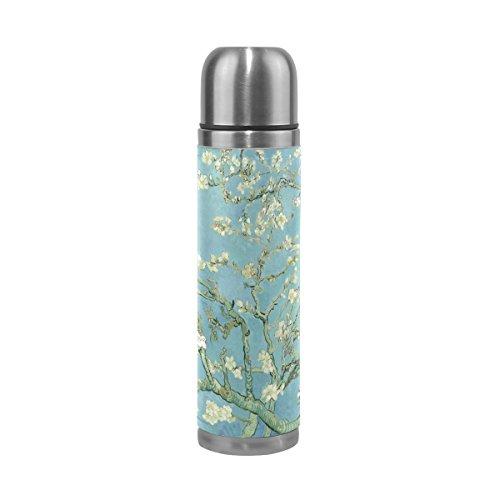 JSTEL Van Gogh Almond Blossom Stainless Steel Water Bottle V