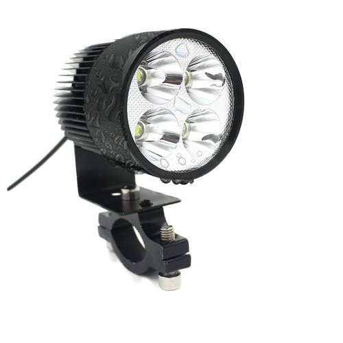 TurnRaise 20W High Power 2000LM Led Motorcycle Headlight Lamp Motorbike Led Spot Light for Bicycles Motorcycles Cars Trucks Boat Using 4326587368