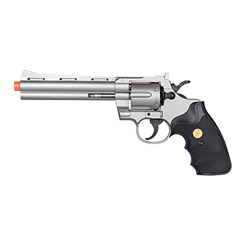 Ecal G36B SILVER Old West Spring Powered Airsoft Revolver