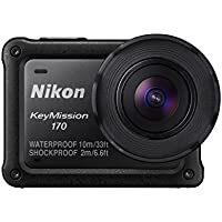 Nikon KeyMission 170 4K Ultra HD Action Camera w/Built-In WiFi