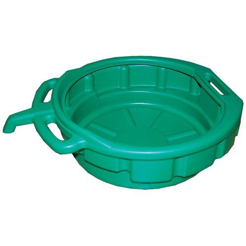 ATD Tools 5185 Green Drain Pan - 4-1/2 Gallon Capacity (Engine Oil Pan)
