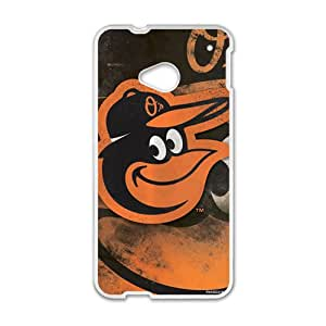 Baltimore Orioles Cell Phone Case for HTC One M7