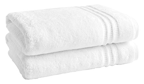 LOFT by Loftex 91017 Essentials Solid Bath Towel, Bright Whi