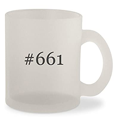 #661 - Hashtag Frosted 10oz Glass Coffee Cup Mug