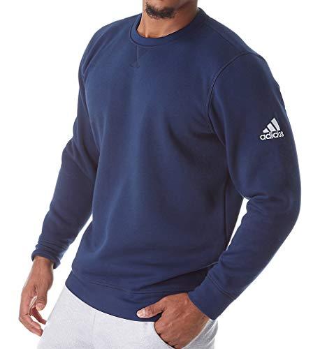 - adidas Climawarm Fleece Crew Top Mens Multisport XL Collegiate Navy-White