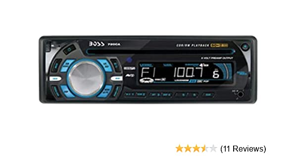 amazon com boss audio 720ca in dash cd receiver with detachable boss marine radio wiring troubleshooting amazon com boss audio 720ca in dash cd receiver with detachable front panel car electronics
